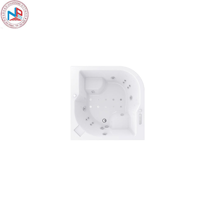 Bồn tắm massage Bravat B25510DW-4 (sục khí) 1.5 m