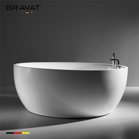 Bồn tắm massage Bravat B25647TW-3W (sục khí)