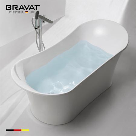 Bồn tắm massage Bravat B25827TW-3W (sục khí) 1.8 m