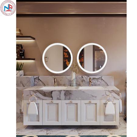 Bộ tủ chậu may đo tự thiết kế cao cấp Ngân Phát NP-01