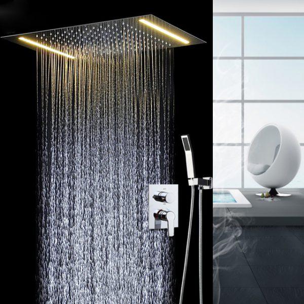 Người dùng nên nên bắt đầu từ mức nước ấm của sen cây tắm đứng