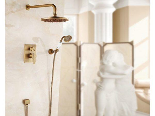 Sen tắm âm tường TOTO mang đến cho không gian phòng tắm sang trọng, tiện nghi