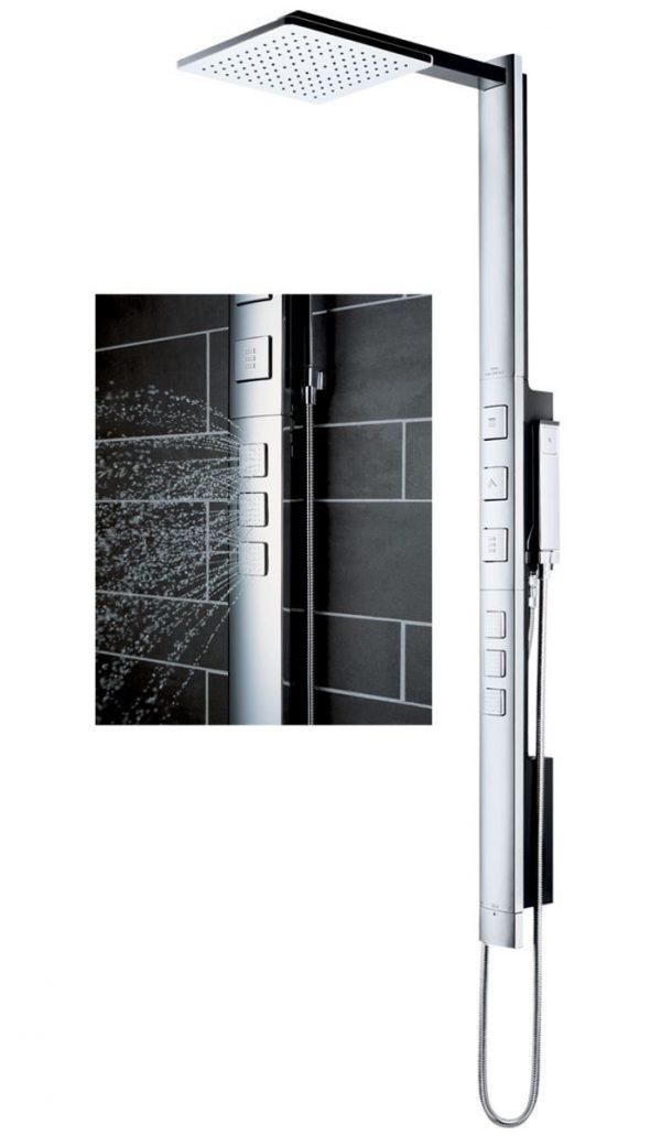 Sen tắm bát vuông mang đến sự độc đáo cho không gian phòng tắm