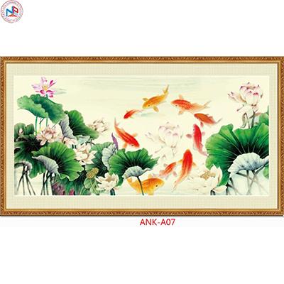 Gạch tranh phong cảnh Anh Khang ANK-A07