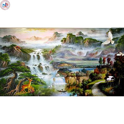 Gạch tranh rồng Anh Khang ANK-A172