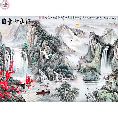 Gạch tranh rồng Anh Khang ANK-A186