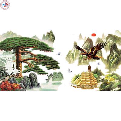 Gạch tranh rồng Anh Khang ANK-A20