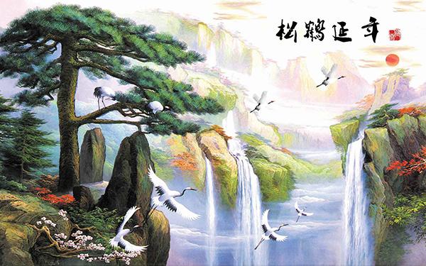 Gạch tranh rồng Anh Khang ANK-A245