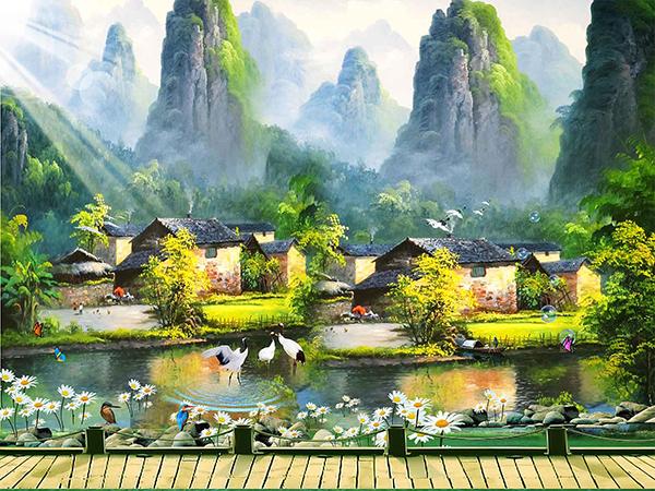 Gạch tranh rồng Anh Khang ANK-A246