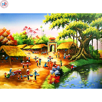 Gạch tranh rồng Anh Khang ANK-DQ04