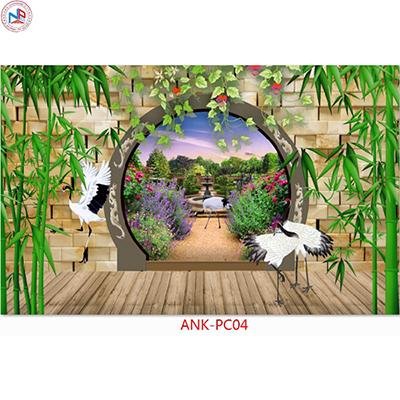 Gạch tranh phong cảnh Anh Khang ANK-PC04
