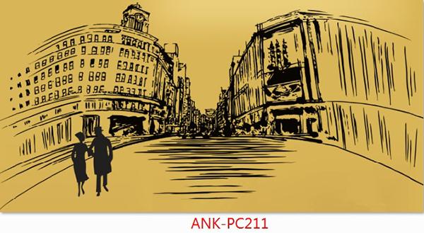 Gạch tranh phong cảnh Anh Khang ANK-PC211