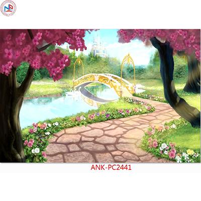 Gạch tranh phong cảnh Anh Khang ANK-PC2441