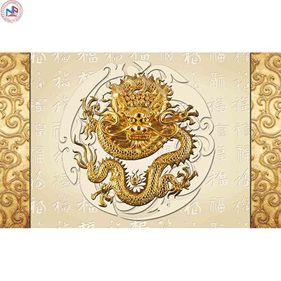 Gạch tranh rồng Anh Khang ANKR15
