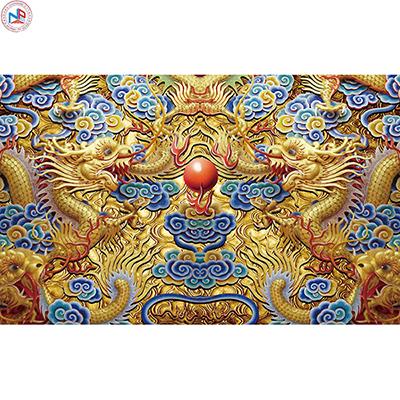 Gạch tranh rồng Anh Khang ANKR18