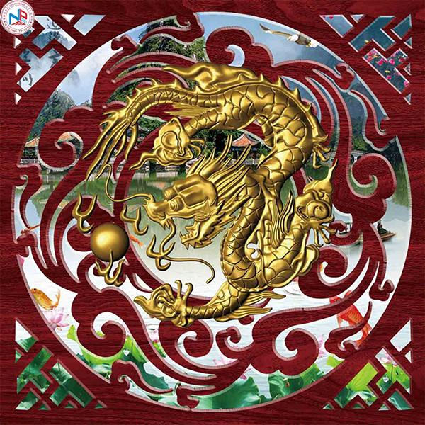 Gạch tranh rồng Anh Khang ANKR20