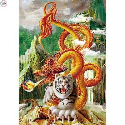 Gạch tranh rồng Anh Khang ANKR21