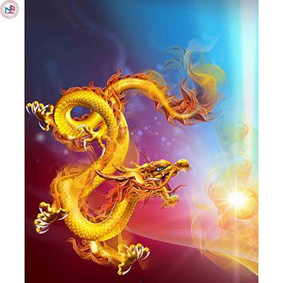 Gạch tranh rồng Anh Khang ANKR5