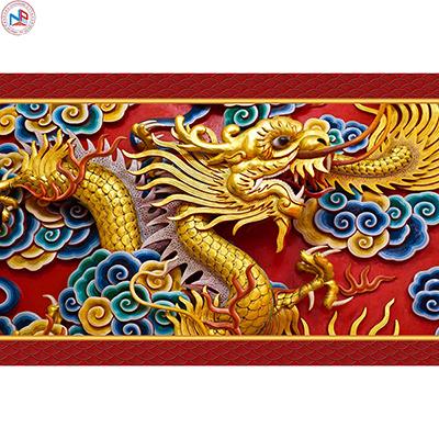 Gạch tranh rồng Anh Khang ANKR6