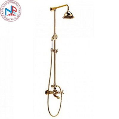 Sen cây tắm Bancoot BC-V01 mạ vàng