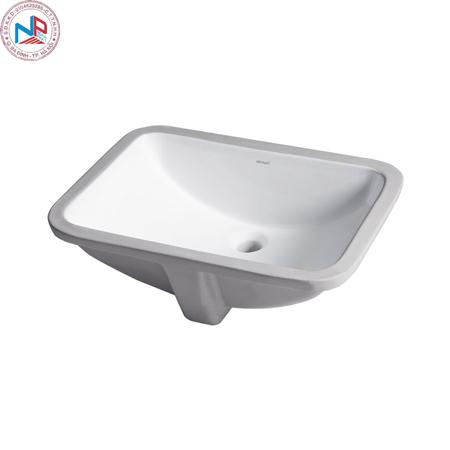 Chậu rửa lavabo Bravat C22131W-A-ENG âm bàn