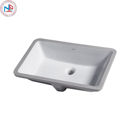 Chậu rửa lavabo Bravat C22171W-ENG âm bàn