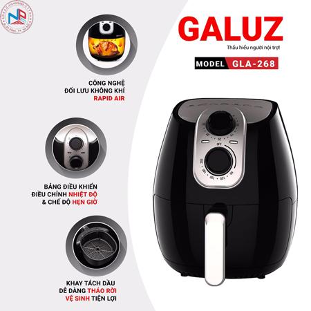 Nồi chiên không dầu Galuz 4l GLa 268 ( cơ)