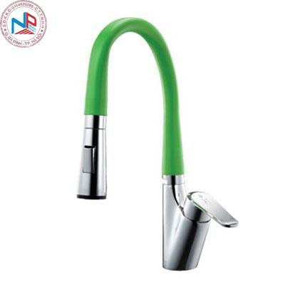 Vòi rửa bát Daeshin KFS-2305 nóng lạnh Green