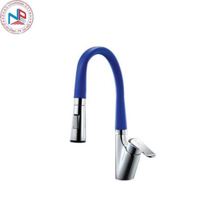 Vòi rửa bát Daeshin KFS-2305 nóng lạnh/Blue