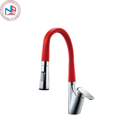 Vòi rửa bát Daeshin KFS-2305 nóng lạnh/Red