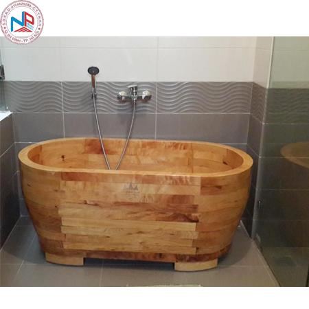 Bồn tắm gỗ pơ mu 03 ( đặt theo yêu cầu )