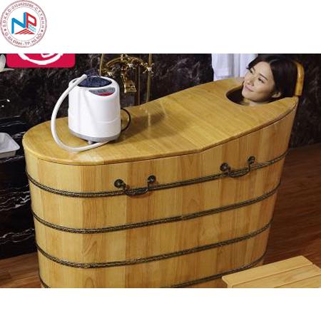 Bồn tắm gỗ pơ mu 07 (đặt theo yêu cầu )