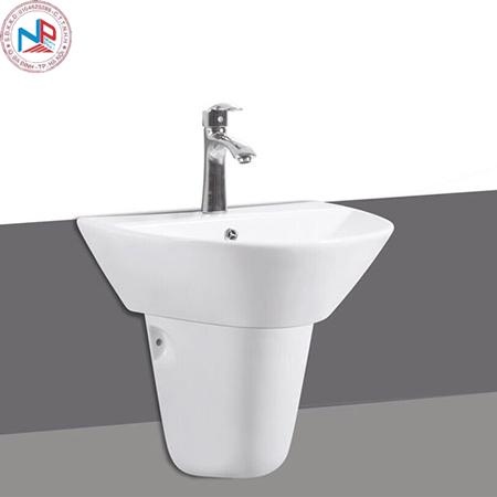 Chậu rửa lavabo Royal RA-501 treo tường chân lửng