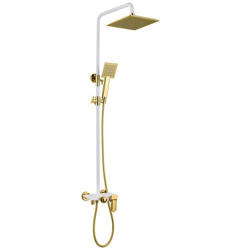 Sen cây tắm HCG 0052B nóng lạnh mạ màu vàng