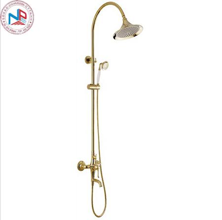 Sen cây tắm HCG 90181 nóng lạnh mạ màu vàng