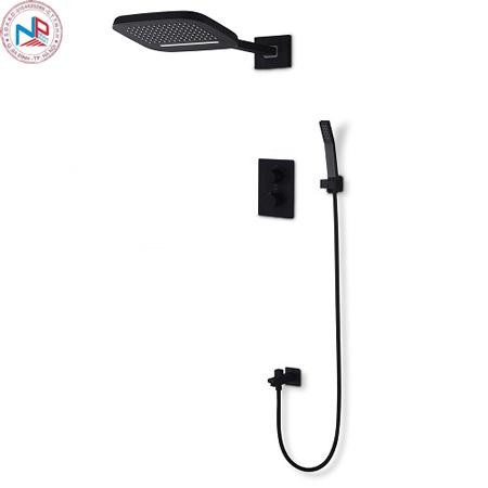 Sen tắm âm tường màu đen HM-8108001