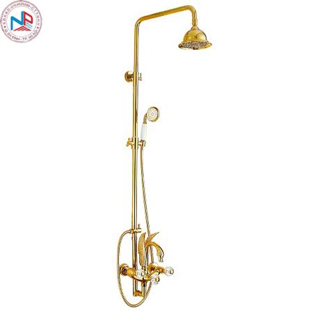 Sen cây tắm Miken MK-51069 mạ màu vàng