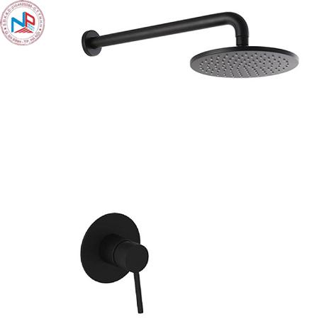 Sen tắm âm tường màu đen MK-91013B