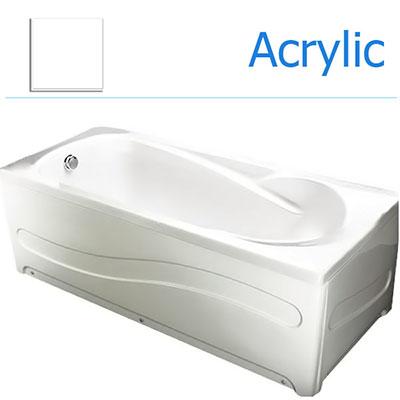 Mẫu bồn tắm ngâm thông dụng. 1