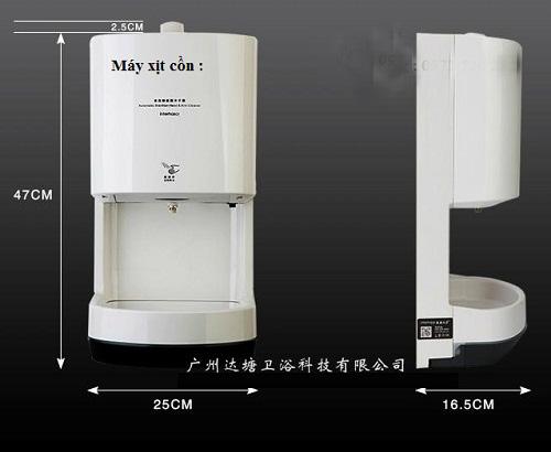 Máy xịt cồn Miken MK-MXC01 công nghiệp