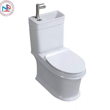 Bồn cầu liền chậu rửa mặt(bệt liền chậu rửa mặt,vòi nóng lạnh)NP04