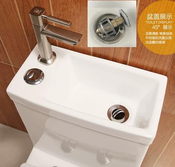 Bồn cầu liền chậu rửa mặt(bệt liền chậu rửa mặt,vòi nóng lạnh)NP03