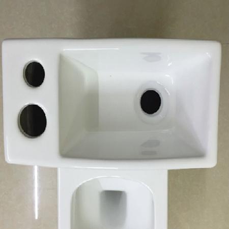Bồn cầu kết hợp chậu lavabo rửa mặt Miken MK-0883