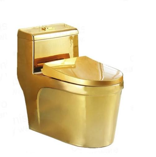 Bồn cầu nghệ thuật mạ vàng 6201G