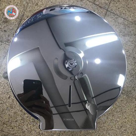 Hộp đựng giấy vệ sinh cuộn lớn Miken MK-1103B Bóng gương