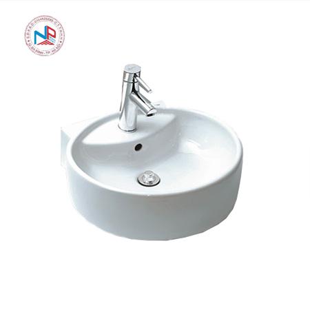 Chậu rửa mặt đặt bàn lavabo Inax AL-292V(EC/FC)