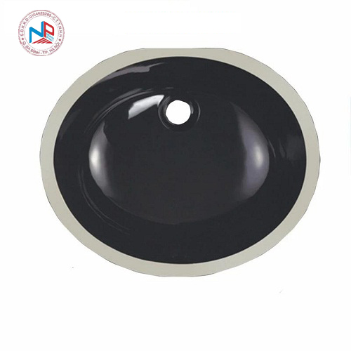 Chậu rửa mặt âm bàn màu đen nghệ thuật 49939B