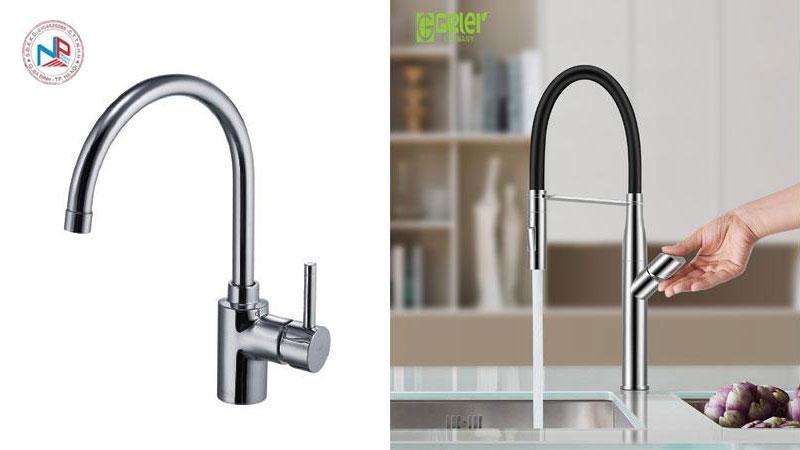So sánh ưu nhược điểm giữa các vòi rửa bát rửa chén