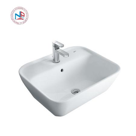 Chậu rửa mặt đặt bàn lavabo Inax AL-296V(EC/FC)