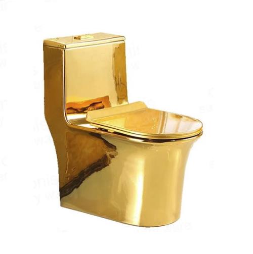 Bồn cầu nghệ thuật mạ vàng 6070G